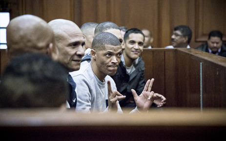 FILE: Geweld and 17 others appeared at the Western Cape High Court facing 166 charges including murder, attempted murder, conspiracy to commit murder. Picture: Thomas Holders/EWN.