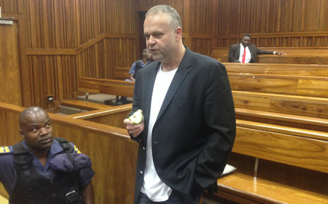 FILE: Czech fugite Radovan Krejcir at the Johannesburg High Court. Picture: Vumani Mkhize/EWN.