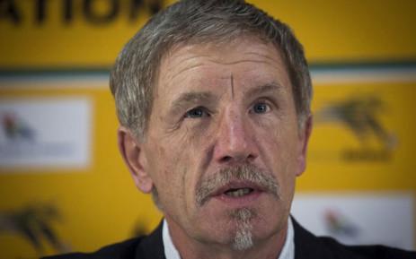 Bafana Bafana coach Stuart Baxter. Picture: @BafanaBafana/Twitter