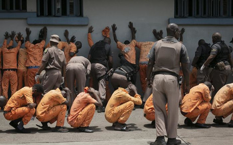 Leeuwkop Correctional Centre in Johannesburg was raided by Correctional Services on 27 December 2018. Picture: Sethembiso Zulu/EWN