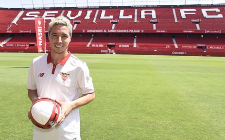 Frenchman Samir Nasri. Picture: @SevillaFC/Twitter.