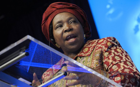 FILE: Outgoing African Union Commission Chairperson Nkosazana Dlamini Zuma. Picture: AFP