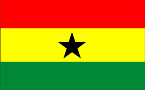 The flag of Ghana. Picture: Supplied.
