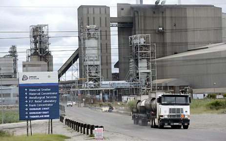 Amplats has presented Amcu with a new offer in a bid to end the strike in the platinum sector. Picture: AFP.