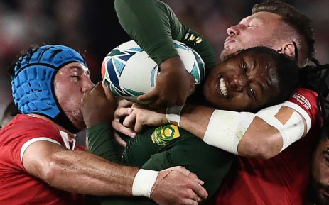 England expect Springboks to charge through the front door in WC final