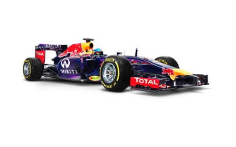 The 2014 Red Bull Racing Formula One car. Picture: Facebook.