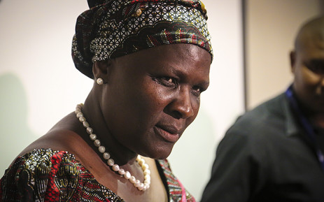 Suspended National Police Commissioner Riah Phiyega. Picture: Reinart Toerien/EWN.