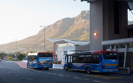 FILE: MyCiTi buses leave Cape Town. Picture: @MyCiTiBus/Twitter