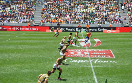 The Blitzboks have beaten Zimbabwe 43 - 0 during the World Sevens Series. Picture: @BlitzBokke/Twitter