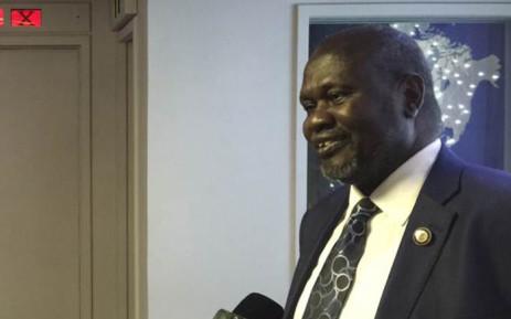 FILE: Former Vice President of South Sudan Riek Machar. Picture: EWN.
