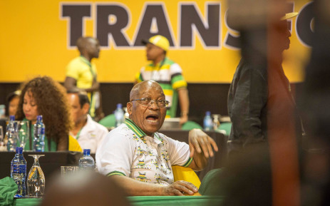 FILE: President Jacob Zuma at the ANC national conference on 18 December 2017. Picture: Thomas Holder/EWN