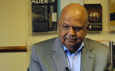 FILE: Former Finance Minister Pravin Gordhan during an interview with EWN on 31 July, 2017. Picture: Christa Eybers/EWN