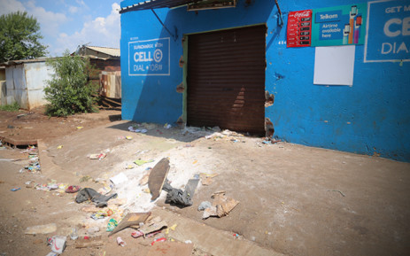 FILE: Looted and vandalised shop in Katlehong. Picture: EWN.