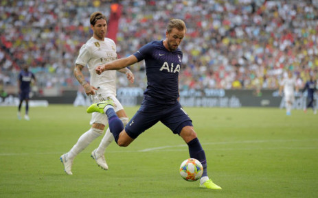 Tottenham's Harry Kane scores against Real Madrid in the Audi Cup in Munich on 30 July 2019. Picture: @SpursOfficial/Twitter