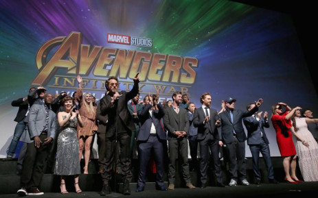 FILE: The cast of 'Avengers: Infinity War'. Picture: Facebook.com