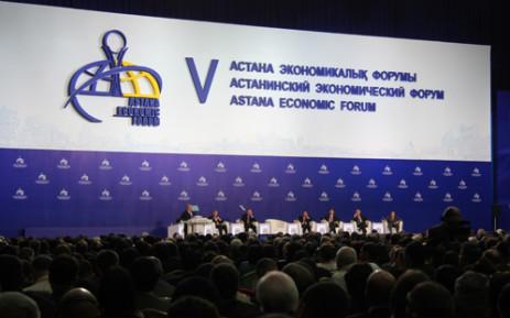 Astana Economic Forum in Kazakhstan. Picture: Taurai Maduna/EWN