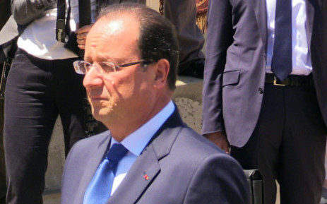 French President François Hollande. Picture: Reinart Toerien/EWN.
