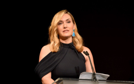 Honoree Kate Winslet accepts the Actors Inspiration Award onstage at the SAG-AFTRA Foundation Patron of the Artists Awards 2017 at the Wallis Annenberg Center for the Performing Arts on 9 November 2017 in Beverly Hills, California. Picture: AFP.