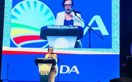 Outgoing Western Cape Premier Helen Zille. Picture: Cindy Archillies/EWN