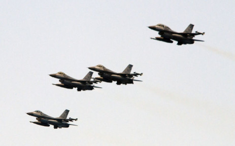 FILE: US fighters jets. Picture: AFP