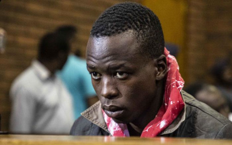 Ernest Mabaso appeared in the Lenasia Magistrates Court on 5 November 2018 for allegedly killing seven people in Vlakfontein. Picture: Abigail Javier/EWN