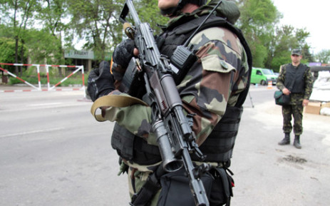 FILE: Ukrainian troops. Picture: AFP