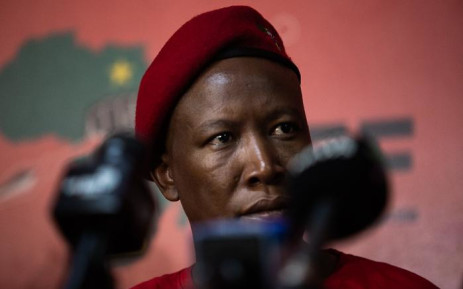 FILE: Economic Freedom Fighters leader Julius Malema during the media briefing at the party's headquarters in Braamfontein, Johannesburg on 05 September 2019. Picture: Kayleen Morgan/EWN