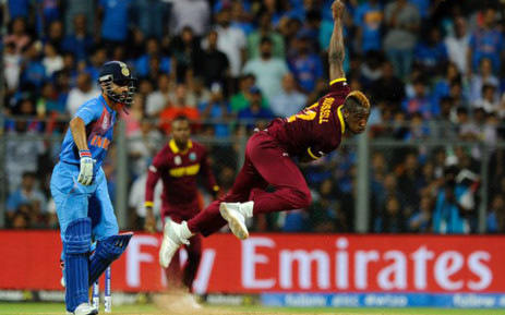 West Indies, the 2012 champions, lost Andre Fletcher to a hamstring injury during their final Super 10 match against Afghanistan in Nagpur.. Picture: Twitter: @ICC
