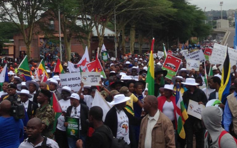 FILE: Around 5,000 people took part in an anti-xenophobic march in Durban on 8 April, 2015. Picture: Govan Whittles/EWN.