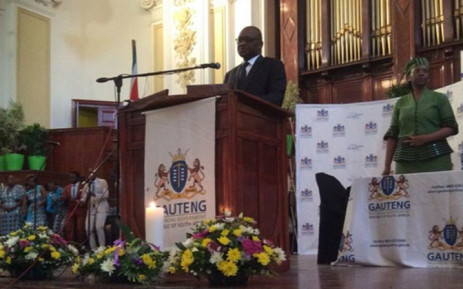 A memorial service was held for 22 victims of the Nigeria building collapse at Johannesburg City Hall on 20 November 2014. Picture: Thando Kubheka/EWN.
