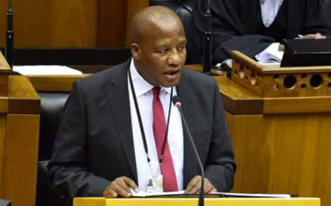 FILE: Minister in the Presidency Jackson Mthembu. Picture: @ANCParliament/Twitter