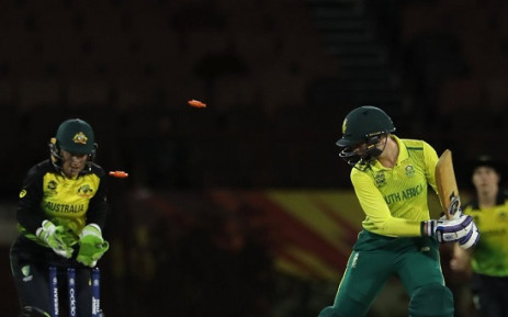 The Proteas women suffered a 46-run defeat in their second and final official ICC Women's World T20 warm-up match against Australia in Guyana on 6 November 2018. Picture: Twitter/@OfficialCSA