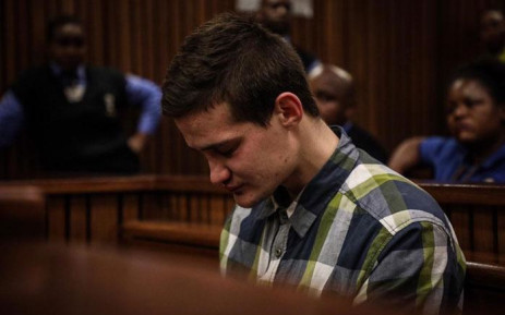 Convicted rapist Nicholas Ninow at the High Court in Pretoria on 16 October 2019. Picture: Xanderleigh Dookey/EWN
