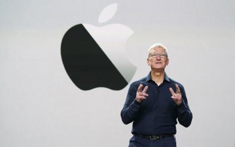 FILE: Apple CEO Tim Cook. Picture: AFP