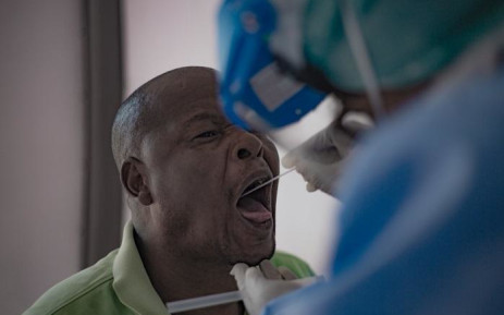 FILE: A man is screened and tested for COVID-19. Picture: EWN