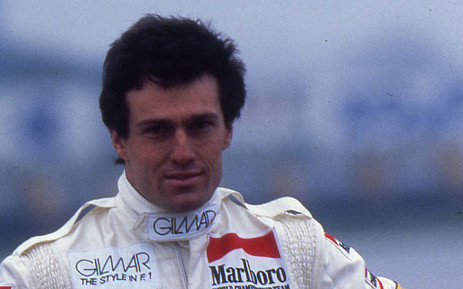 Former Formula One driver Andrea De Cesaris. Picture: Facebook.
