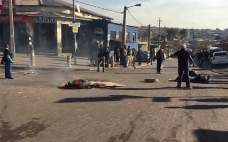 Alexandra residents said they were tired of empty promises from the government. Picture: EWN.