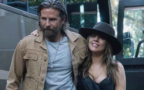 Lady Gaga and her co-star and director Cooper on the 'A Star Is Born' scene. Picture: @ladygaga/Instagram.