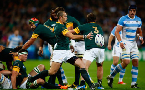 Springboks vs Argentina in their Rugby World Cup Bronze final at London's Olympic Stadium on 30 October 2015. Picture: Rugby World Cup @rugbyworldcup.