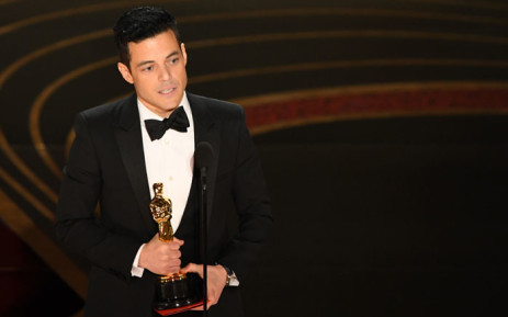 Best Actor winner for 'Bohemian Rhapsody' Rami Malek accepts his award onstage during the 91st Annual Academy Awards at the Dolby Theatre in Hollywood, California on 24 February 2019. Picture: AFP