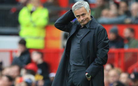 FILE: Manchester United managed Jose Mourinho. Picture: AFP