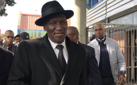 Police Minister Bheki Cele pictured in Mitchells Plain, Cape Town, on 12 August 2019. Picture: Kaylynn Palm/EWN