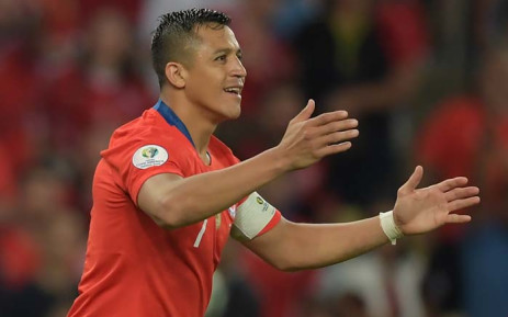 FILE: Alexis Sanchez is currently on loan at Inter from Premier League side Manchester United. He has scored once for the Italians in four appearances in all competitions. Picture: AFP.
