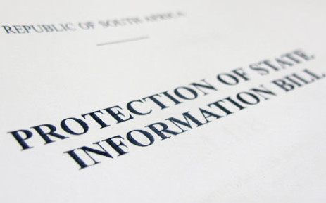 Protection of State Information Bill. Picture: Aletta Gardner