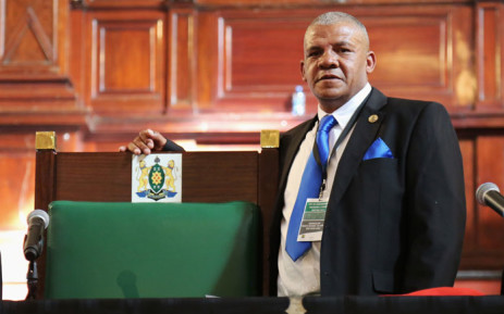 Newly elected speaker in the City of Johannesburg council, the Democratic Alliance's Vasco Da Gama: Picture: Christa Eybers/EWN.