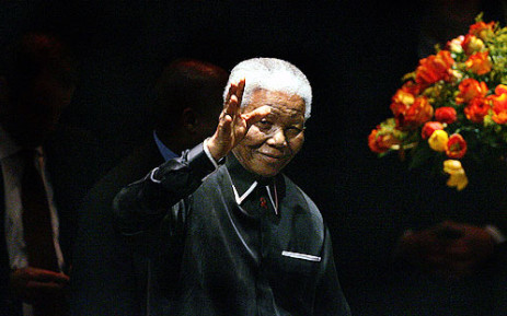 HAMBA KAHLE: Nelson Mandela has died at the age of 95. Picture: AFP
