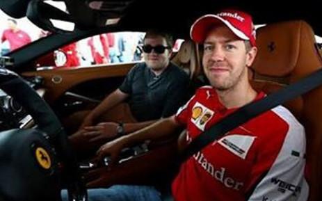 Sebastian Vettel. Picture: instagram.com