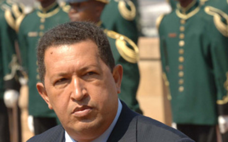Venezuelean president Hugo Chavez. Picture: SAPA
