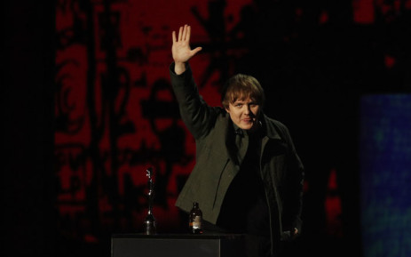 British singer-songwriter Lewis Capaldi collects his award for Song of the Year for 'Someone You Loved' during the BRIT Awards 2020 ceremony and live show in London on 18 February 2020. Picture: AFP.