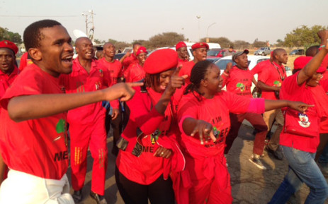FILE: Members of Economic Freedom Fighters. Picture: Vumani Mkhize/EWN.